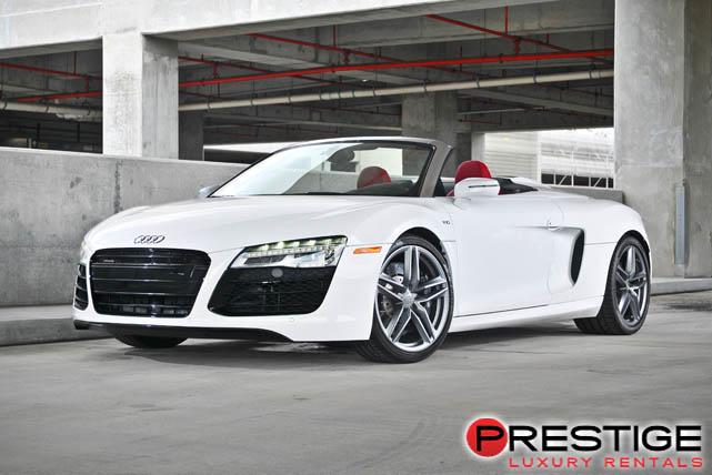 Audi R Spyder Miami Luxury Car Rentals Miami - Audi car rental